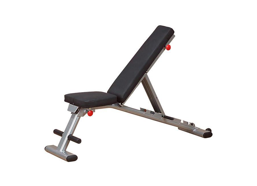 Bodysolid gfid225 folding flat incline decline weight bench syracuse fitness - Weight bench incline decline ...